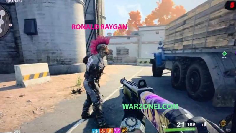 raygan in zombie