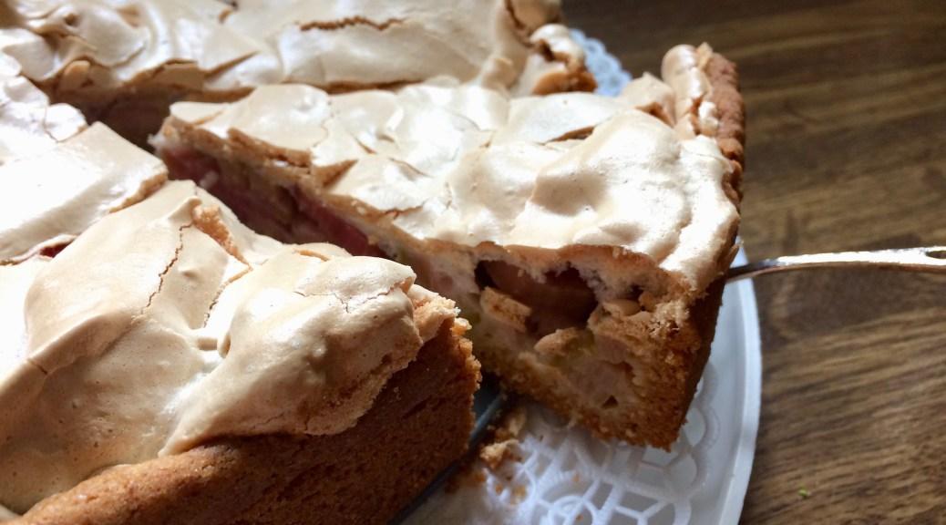 Oma Hedwigs Rhabarber Kuchen