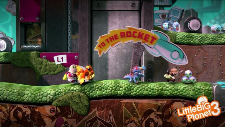 Little Big Planet Sackboy Konsolen PlayStation