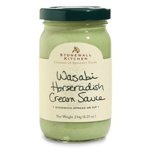 Stonewall Kitchen Wasabi Horseradish Cream Sauce jar