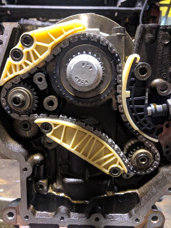 tsi 2.0 transmission förbalansaxlar