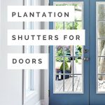 Plantation Shutters For Doors Wasatch Shutter Over 20 Years Exp