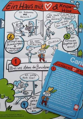 Posterillu für Caritas München