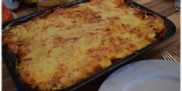Lasagne servierfertig