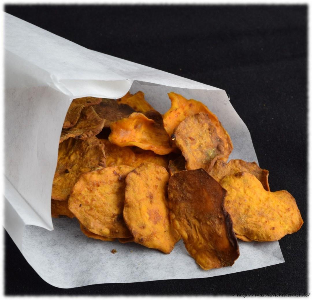 Süßkartoffeln aus dem Backofen
