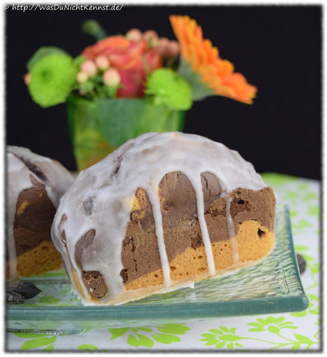 Marmorkuchen mit Tonkabohne