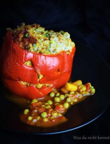 Halloween-Special Gefüllte Paprika