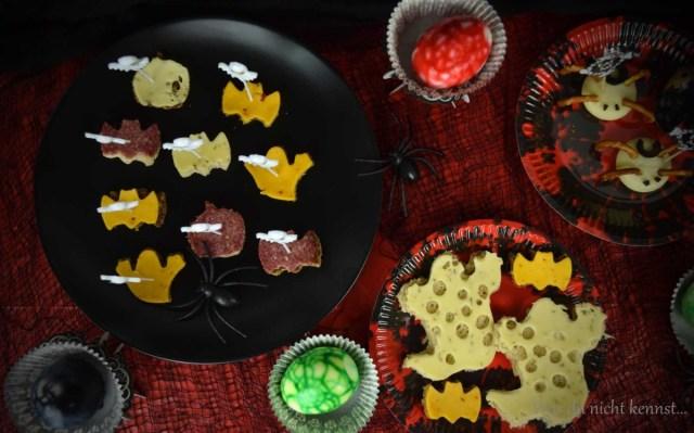 Halloween-Special gruseliges Buffet