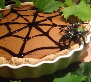 Halloween-Special Spider Kürbisquiche