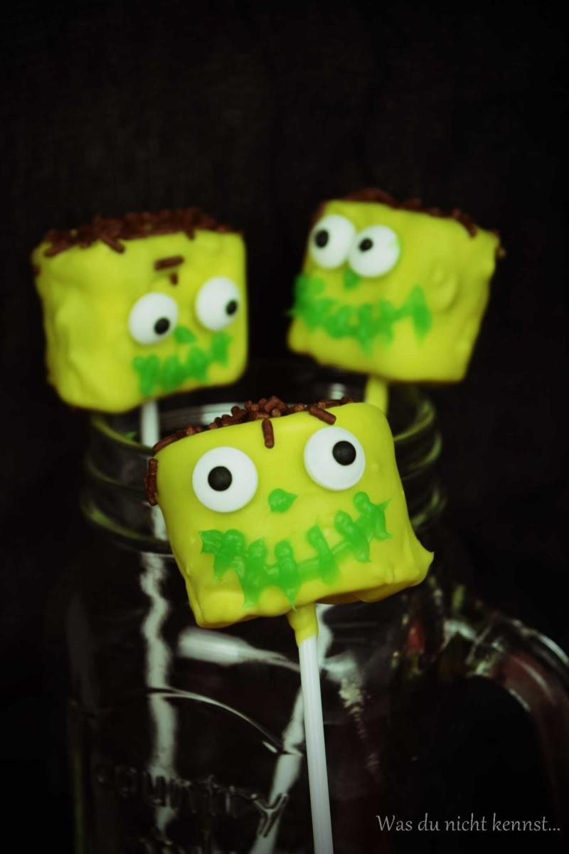 Halloween-Special Marshmallow Pops