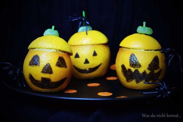 Halloween-Special Orangenmuffins