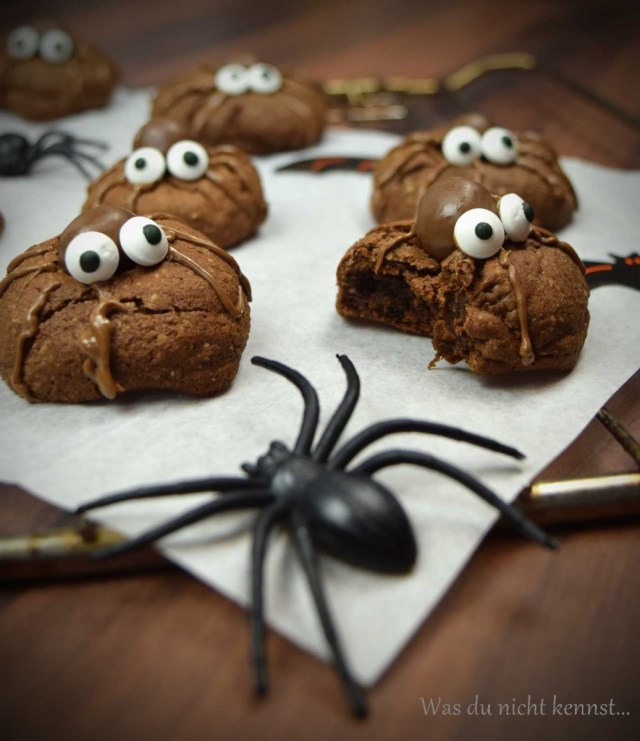 Simply Yummy Spinnenkekse Halloween-Special