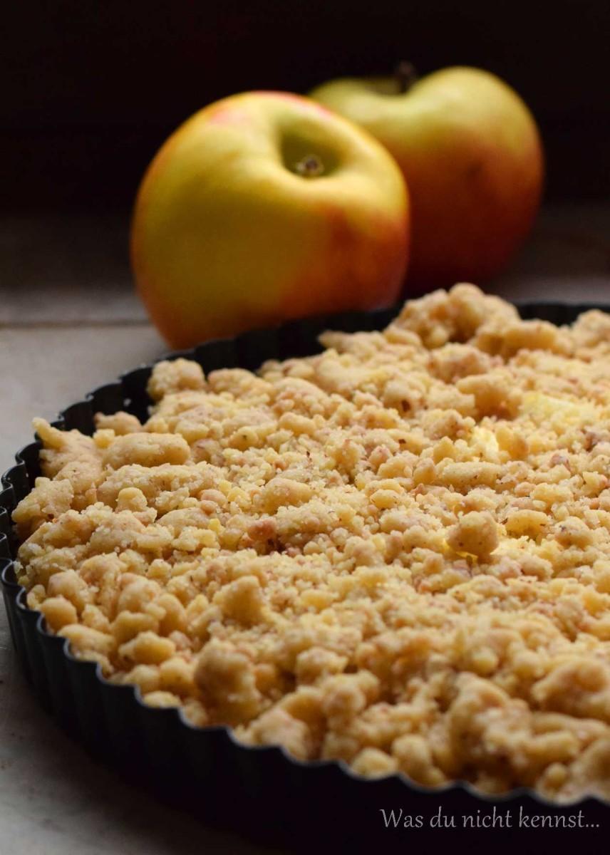 Streuselkuchen mit Apfel