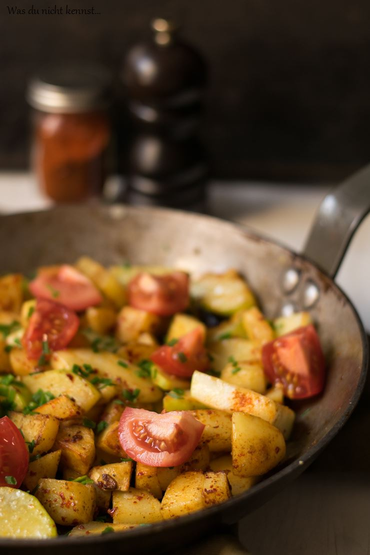Kartoffel-Zucchini-Pfanne