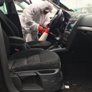 Schimmel reinigen auto amsterdam, rotterdam, utrecht, Den Haag, Almere, Breda, Tilburg