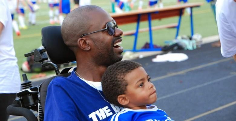 Image of soccer coach John Sylvester and his son