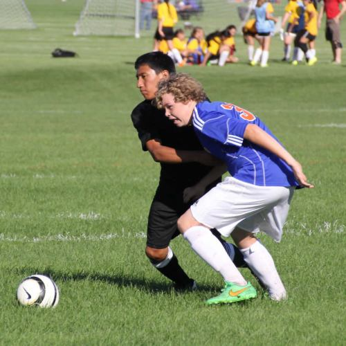 Washburn B Squad soccer player Joe Biltz