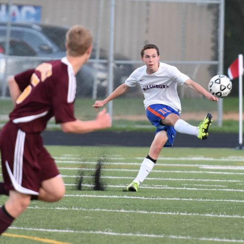 Washburn varsity soccer player Max Lindemann