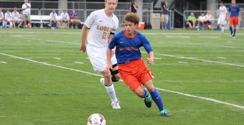 Washburn varsity soccer player Cooper Wells