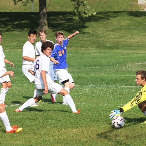 Washburn soccer players score against Minneapolis Southwest