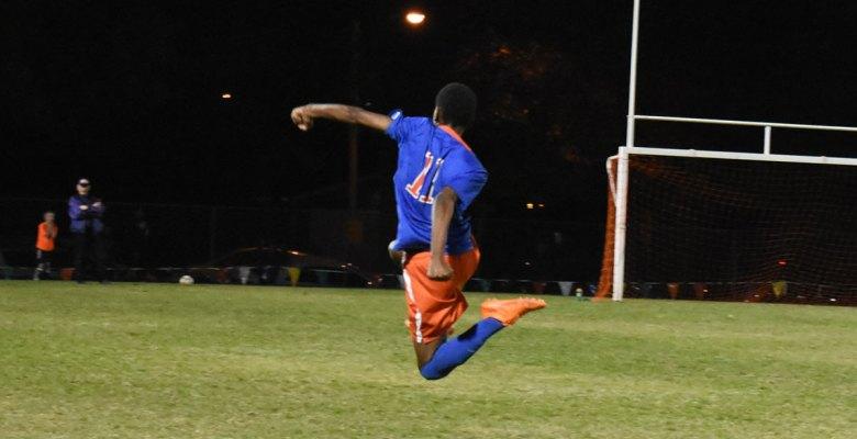 Washburn varsity soccer striker Hassan Adan