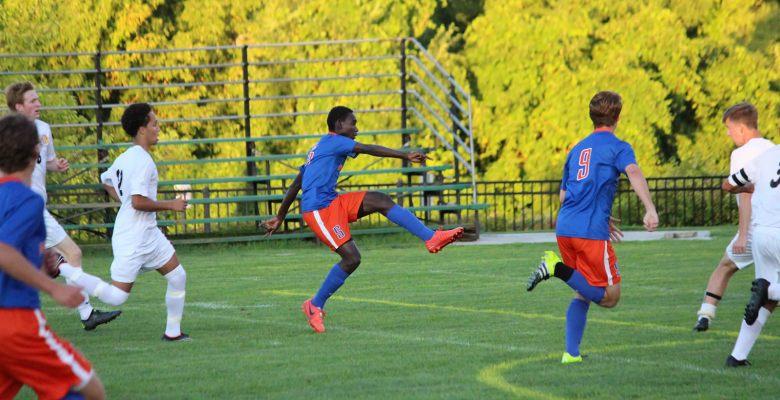 Washburn soccer striker Juan Louis