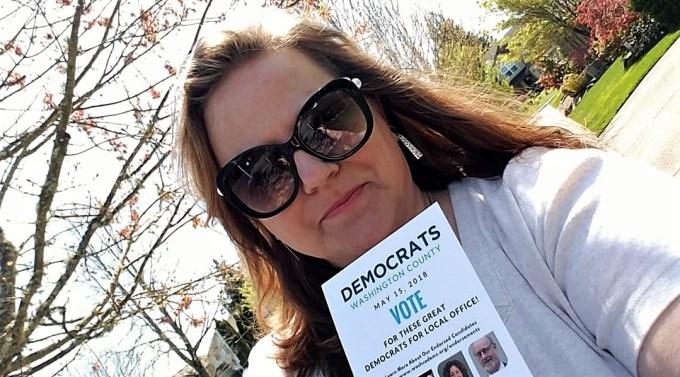 Karen Reynolds active as a neighborhood leader