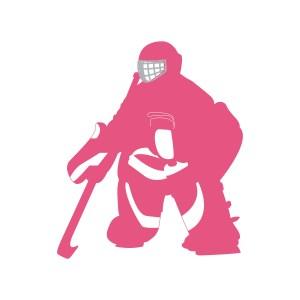 Pink Goalie