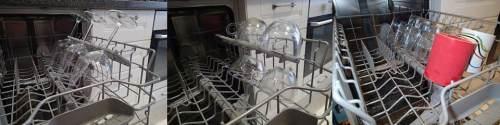 Bardak ve bardaklarınızı bulaşık makinesine yerleştirin