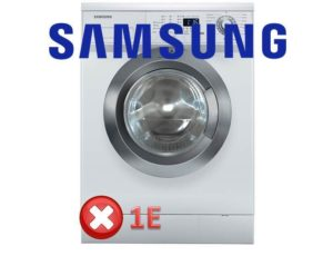Samsung 1E hatası