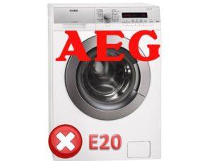 AEG'de E20 hatası