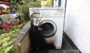 Çamaşır makinesini asla gözetimsiz bırakmayın