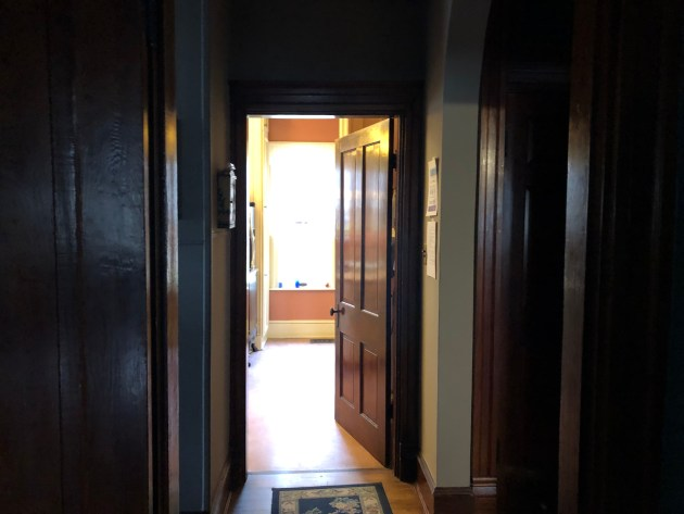 Hall entrance to kitchen