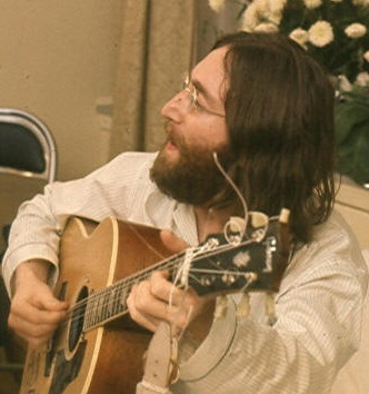 John Lennon, singing