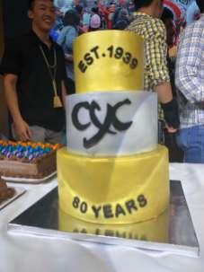 2019 80th Anniv cake1