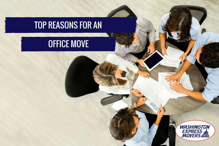Top Reasons for an Office Move