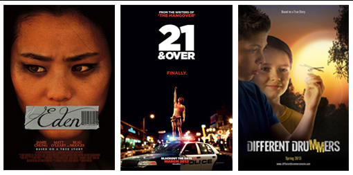 top row posters