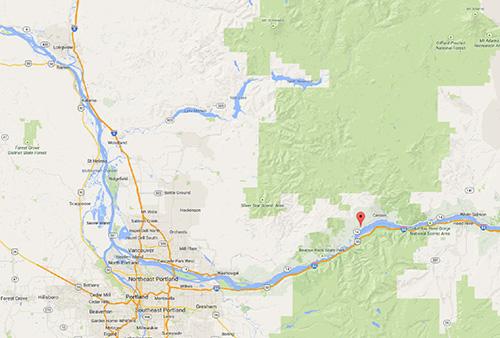 Stevenson Map