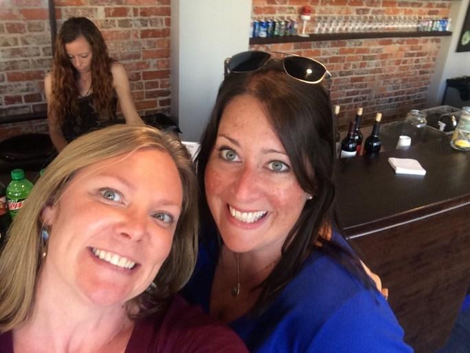 Washington Filmworks Executive Director Amy Lillard and Filmmaker Mary Russell