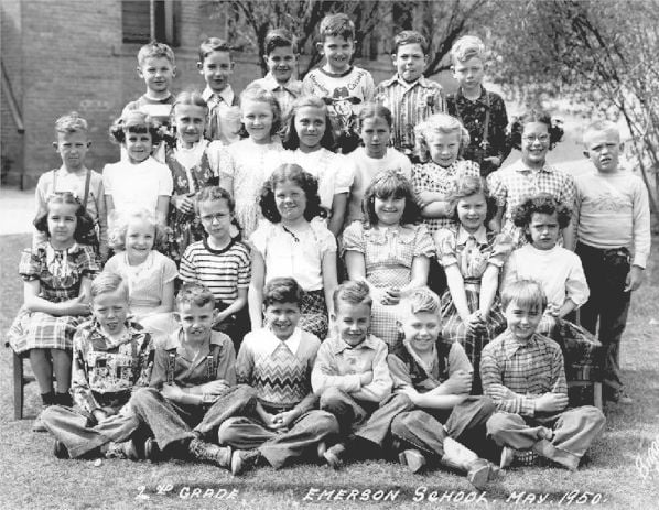 Emerson Elementary School Second Grade Class, May 1950