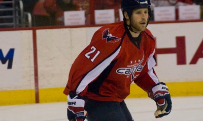 Former Capitals forward Brooks Laich announced his retirement Friday.