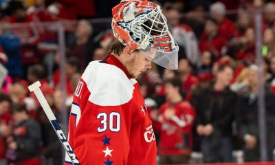 The Washington Capitals have high expectations for Ilya Samsonov.