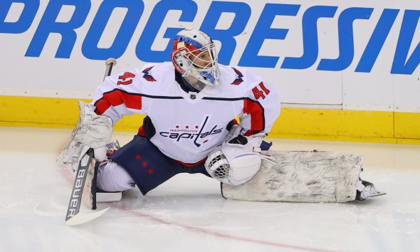 Vanecek was re-acquired by Washington after being taken by Seattle in the expansion draft.