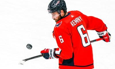 Capitals defenseman Michal Kempny