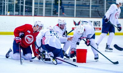 Capitals prospects impressed at rookie camp.
