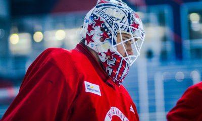 Capitals goaltender Ilya Samsonov