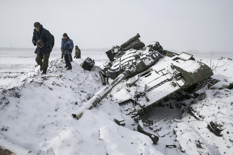 russian tanks in crimea