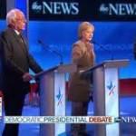 Democrats debate in New Hampshire (www.wcvb.com)
