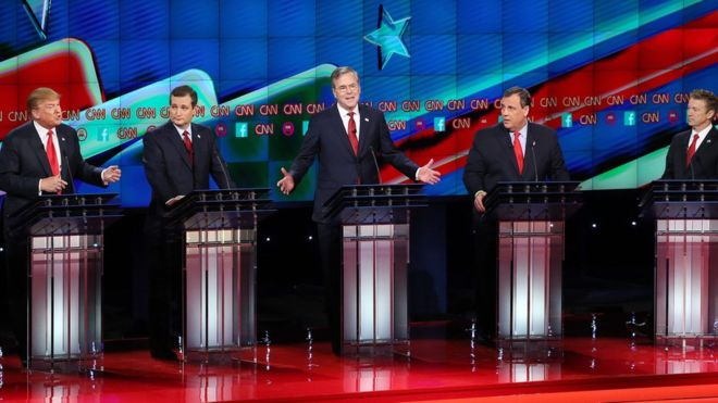 Republican debate Winners and losers (EPA)