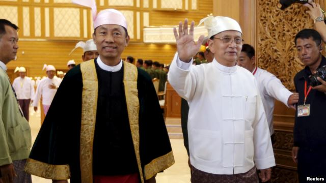 Myanmar President delivers his final national speech